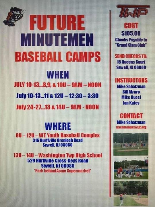 News Washington Township Baseball